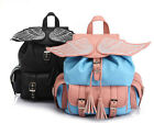 Ed906 women Angel wings backpack  weekend travel bag stachel purse bag bookbags