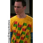 New Mens T Shirt - Big Bang Theory- Sheldon's Optical Illusion Cubes T Shirt
