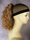 """Hairpiece Clip-On 16"""" Reds Synthetic Tight Curlys-- Express Yourself Brand--"""