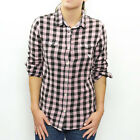 Roxy Women's Coco Plaid 2 L/S Casual Collared Shirt - AW11: Letily Pld Rwd