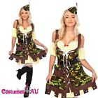 Ladies Robin Hood Halloween Fancy Dress Costume Hens Night Party Dress