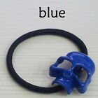 8 colors hot stylish punk skull ponytail holder hair tie show character