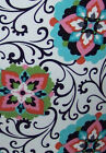 Black Scroll Floral Green Pink Blue Light Switch Plates Electrical Outlet Covers
