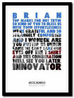 ARCTIC MONKEYS - Brianstorm - song lyric poster typography art print - 4 sizes