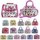 Fashion Designer Butterfly Patent Leather Tassel Satchel Ladies Shoulder HandBag