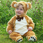 Baby Teddy Bear fancy dress up BNWT NEW SIZES boys girls toddler deluxe costume