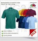 Fruit of the Loom Poloshirt Polohemd in S M L XL XXL und XXXL