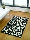 Flair Element Warwick Rug Black and Ivory- Various Sizes Available