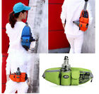 new Unisex Travel Bag Waist Bag  Riding Pack Bum With Water Bottle Holder