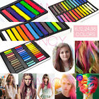 6/12/24/36 PCS Hair Chalk Temporary DIY Hair DYE Colour Soft Pastels Salon KIT