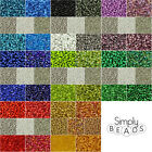 VALUE GLASS SEED BEADS MIX 8/0 3MM - JEWELLERY MAKING CRAFT CHOOSE STORAGE BOX