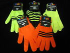 Neon gloves ONE SIZE boys girls childrens warm child winter wear kid fashion