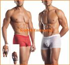 Striped Mesh Stripes Red White Boxer Men Extreme Novelties Fantasy Lingerie New
