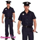 Mens Policeman Police Officer Cop Uniform Halloween Fancy Dress Up Costume