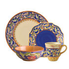 Pfaltzgraff Villa Della Luna Blue Dinnerware Set, 32 Piece, Service for 8