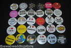 Badges to Offend... ADULT interest  - s&m - Swear words - suggestive - Naughty.