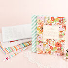 2014 Dated New Korean Ardium Pattern Monthly Planner Schedule Diary + PVC Cover