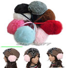Fashion Women Girls Plush Round Ear Muffs Winter Warmer Earmuffs Q079
