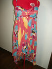Chord, Juniors, Floral, lined Hi-Low, Knee Length Dress, size 11, retail 52.00