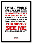 THE NATIONAL - Pink Rabbits ❤ song lyric poster typography art print - 4 sizes