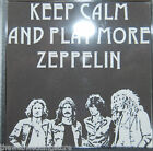 Keep calm listen to - Meatloaf - Led Zeppelin - Quo - Pink Floyd - 58mm KEY RING