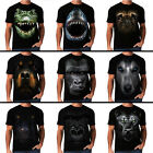 Alligator Shark Pug Rottweiler Majectic Gorilla Panther New Mens Women T-Shirt
