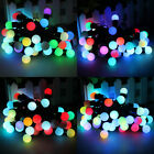 5m 50 Ball LED RGB Color Changing String Fairy Light Christmas Party Waterproof