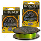 Professional Fluorocarbon Coated Fishing Lines Mono High Visibility Yellow 150m