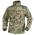 HELIKON LIBERTY DOUBLE WARM POLAR FLEECE MENS TACTICAL HUNTING JACKET MTP CAMO