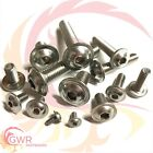 M3 A2 Stainless Flanged Socket Button Head Screws - 3mm Flange Bolt Allen Key