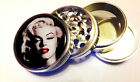 "MARILYN MONROE KITCHEN SPICE HERB GRINDER PIN-UP 4 PC DIAMOND TEETH 2.2"" GM3"