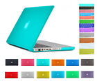 "New Rubberized Hard Case Cover For Macbook Pro 13.3 13"" A1278 + keyboard cover"