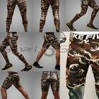Mens MILITARY CAMO Outdoor Sports Base Layer Compression PANTS SHORTS Take 5