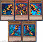 YuGiOh 1st Edition EXODIA THE FORBIDDEN ONE 5-Card SET w/Holo HEAD + Arms + Legs