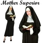 Mother Superior Costume Religious Nun Habit Hen Night Fancy Dress Party Outfit