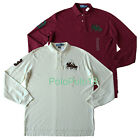 New Polo Ralph Lauren Big Pony Dual Match Long Sleeve Shirt L XL