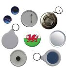 Wales Flag Pin Button Badge Magnet Keyring Bottle Opener Mirror