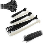 CABLE TIES 650 x 12mm,  900mm 750mm 550mm EXTRA LARGE AND LONG  BLACK AND WHITE