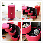 Travel Jewellery Roll Case Box Small Organiser Storage Boxes Necklace Ear Rings