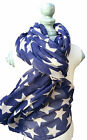 Stars - Large Star Scarf - Bold Stars cover this lovely scarf