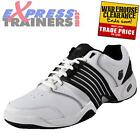 K Swiss Mens Accomplish LS Court Cross Trainers White * AUTHENTIC *