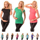 2in1 Maternity & Nursing Top Pregnancy Breastfeeding Size 8 10 12 14 16 18 7006