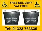 2 12v.12 15 17 33 36 38 40 50 55 75AH MOBILITY SCOOTER WHEELCHAIR BATTERIES