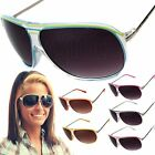 DG Fashion Aviator Sunglasses Designer Style Glasses Sunnies with Metal Detail