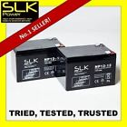 PAIR (12v) 12 17 24 33 36 40 50 55 75AH MOBILITY SCOOTER WHEELCHAIR BATTERIES...