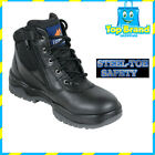 MONGREL STEEL TOE ZIP SIDE SAFETY BLACK 261020 AUSTRALIAN MADE BRAND NEW