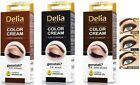 DELIA HENNA Eyebrow color cream Advanced, creamy eyebrow colourisation