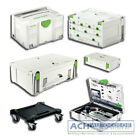 FESTOOL FESTO SYS SYSTAINER T LOC TL SORTAINER MINI MAXI FS-SYS mit Einlage HWZ