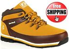 MENS LACE UP CAMEL BROWN ANKLE OUTDOOR NON SAFETY WORK HIKING CASUAL BOOTS SIZE
