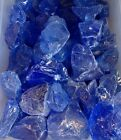 """Blue Fire glass for your Gas Fireplace, Gas Logs or Fire Pits - Large 1"""" - 2"""""""